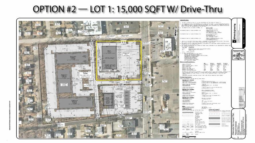 15k sqft building plan outlined lot 1-01-01