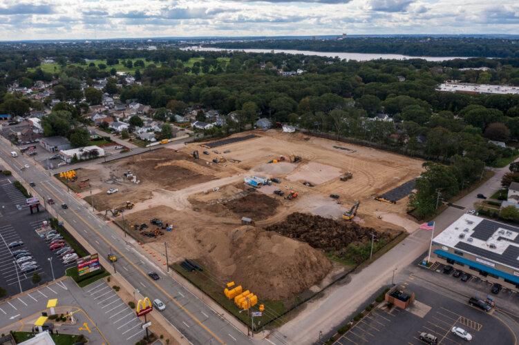 Newport Center (Schiavo Enterprises)- Moore St Aerial View 6