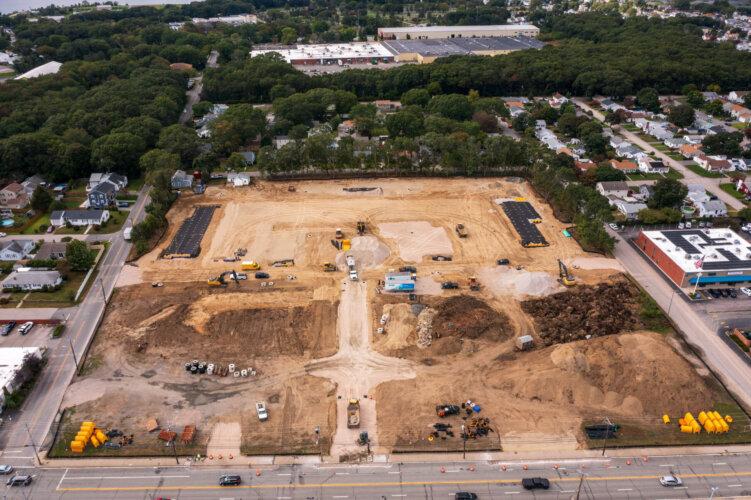 Newport Center (Schiavo Enterprises) - Newport Ave Aerial View 4