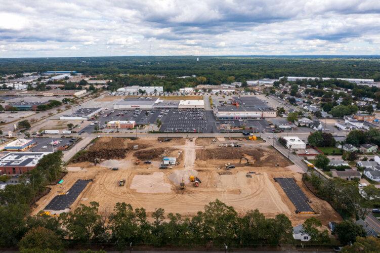 Newport Center (Schiavo Enterprises) - Rear Aerial View 5
