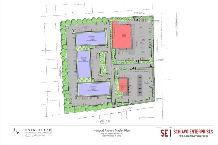 Rumford RI Site Plan-Architectual